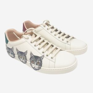 Brand New Gucci Ace Mystic Cat Sneakers